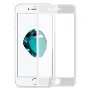 Защитное стекло для экрана iPhone 7+ White, 3D Gorilla, анти-шпион, Perfeo (113)