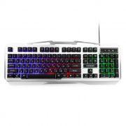 Клавиатура игровая Гарнизон GK-500G USB, металл. корпус, подсветка
