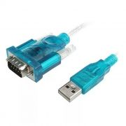 Адаптер USB Am - DB9M/RS232, 1 м,  AT7303
