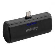 Зарядное устройство SmartBuy TURBO, microUSB, 2200 мА/ч, черное (SBPB-200)