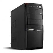 Корпус Miditower CROWN CMC-SM160 Black ATX, без блока питания
