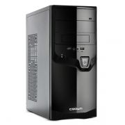 Корпус Miditower CROWN CMC-SM602 Black/Silver ATX, без блока питания