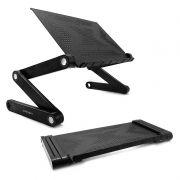 Раскладной портативный столик для ноутбука CROWN CMLS-103, 12- 15.6, алюминий, черный