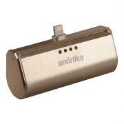 Зарядное устройство SmartBuy TURBO-8 Apple Lightning, 2200 мА/ч, золотистое (SBPB-150)