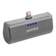Зарядное устройство SmartBuy TURBO-8 Apple Lightning, 2200 мА/ч, серое (SBPB-120)