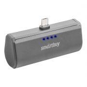 Зарядное устройство SmartBuy TURBO, microUSB, 2200 мА/ч, серое (SBPB-220)