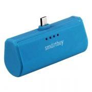 Зарядное устройство SmartBuy TURBO, microUSB, 2200 мА/ч, синее (SBPB-240)