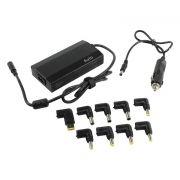 Адаптер питания для ноутбука ORIENT PU-AC100W 100Вт, 15-20В, USB, 9 переходников, 220В/прикуриватель