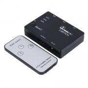 Переключатель 3 HDMI входа =>1 HDMI выход, 1080p,  3D, пульт ДУ, Orient HS0301P