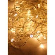 Светодиодная гирлянда КОСМОС, белая, 100 LED, 8 режимов, 10.8 м (KOC_GIR100LED_W)