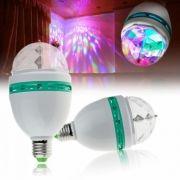 Светодиодная диско-лампа КОСМОС 142, вращающаяся, цоколь E27 (KOCNL-EL142)
