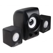 Колонки 2.1 Perfeo Podium Black, USB (PF-695)