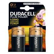 Батарейка D DURACELL Plus Power LR20-2BL, 2шт, блистер (MN1300)