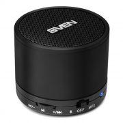 Колонка 1.0 SVEN PS-45BL, MP3, FM, микрофон, Bluetooth, черная