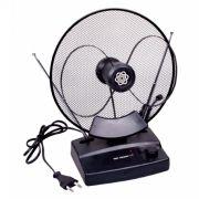 Антенна комнатная для ТВ, VHF/UHF/FM, DVB-T2, активная, RITMIX RTA-100
