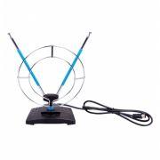 Антенна комнатная для ТВ, VHF/UHF/FM, DVB-T2, пассивная, RITMIX RTA-010