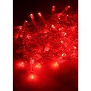 Светодиодная гирлянда КОСМОС, красная, 50 LED, 8 режимов, 6.5 м (KOC_GIR50LED_R)
