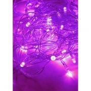 Светодиодная гирлянда КОСМОС, фиолетовая, 50 LED, 8 режимов, 6.5 м (KOC_GIR50LED_V)