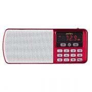 Мини аудио система Perfeo ЕГЕРЬ, MP3, FM, красная (i120-RED)