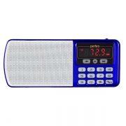 Мини аудио система Perfeo ЕГЕРЬ, MP3, FM, синяя (i120-BL)