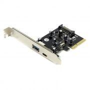 PCI-E контроллер 1 внешн. USB3.1 Type C и 1 внешн. Type A + доп. питание, ORIENT AM-31U2PE-AС