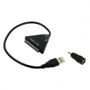 Адаптер USB3.0 - S-ATA 2.5/3.5/5.25 SSD/HDD, разъем питания, Orient UHD-512 (30394)