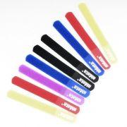 Стяжка для кабеля Aidata СМ03, 180х21мм, на липучке, цветная, 10шт