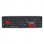 Клавиатура Exegate LY-403, красные клавиши, USB