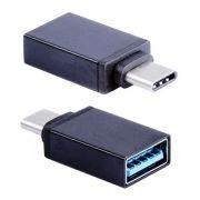 Адаптер OTG USB 3.1 Type C(m) - USB 3.0 Af, черный, BLAST BMC-602