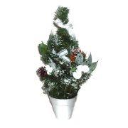 Новогодняя ёлочка КОСМОС с украшениями и подсветкой, высота 40 см (KOC_NewYearTREE_40)