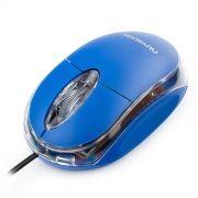 Мышь Гарнизон GM-100B, синяя, USB