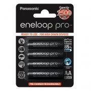 Аккумулятор AA Panasonic Eneloop Pro 2500мА/ч Ni-Mh, 4шт, блистер (BK-3HCDE/4BE)
