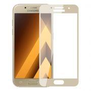 Защитное стекло для экрана Samsung Galaxy A3 Gold (17), Full Screen Asahi, Perfeo (86) (PF_5073)