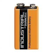 Батарейка 9V DURACELL INDUSTRIAL 6LR61, щелочная, 1 шт