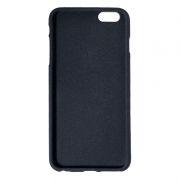 Клип-кейс для Apple iPhone 6/6S Plus, черный, шероховатый, TPU, Perfeo (PF_5264)
