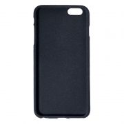 Клип-кейс для Apple iPhone 6/6S, черный, шероховатый, TPU, Perfeo (PF_5268)