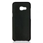 Клип-кейс для Samsung A5 2017, черный, шероховатый, TPU, Perfeo (PF_5278)