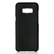 Клип-кейс для Samsung S8+, черный, шероховатый, TPU, Perfeo (PF_5293)