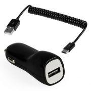 Зарядное автомобильное устройство SmartBuy NOVA MKII, 2.1A, витой кабель Type-C, черн. (SBP-1503C-V)