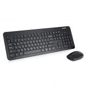 Комплект SmartBuy ONE SBC-214350AG-K Black, беспроводные клавиатура и мышь