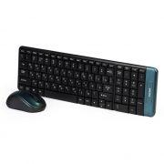 Комплект SmartBuy SBC-222358AG-K Black, беспроводные клавиатура и мышь