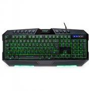Клавиатура игровая CROWN CMKG-402, подсветка 7 цветов, USB