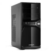 Корпус Miditower CROWN CMC-SM600 Black/Silver ATX, без блока питания