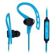 Гарнитура Bluetooth RITMIX RH-410BTH, внутриканальная, голубая