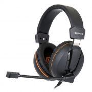 Гарнитура GEMBIRD MHS-G100, игровая, черно-оранжевая + код Survarium