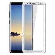 Защитное стекло для экрана Samsung Note 8, белое, 3D Gorilla, Perfeo (PF_5317)
