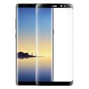 Защитное стекло для экрана Samsung Note 8, черное, 3D Gorilla, Perfeo (PF_5318)