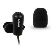 Микрофон Sven MK-170 на клипсе, черный