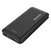 Зарядное устройство Defender Lavita 15000 с аккумулятором 15000 мА/ч, 2xUSB, черное (83645)