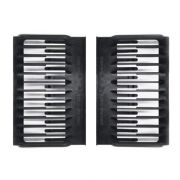 Фурнитура мебельная на 12 DVD, комплект из 2-х пластиковых направляющих (OEM)